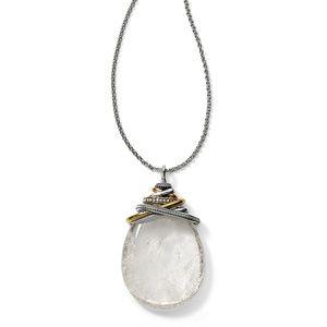 Brighton Jewelry - Brighton Neptune's Rings Crystal Cabochon Necklace